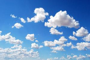 Kumulus-Wolken
